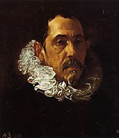 Portrait of a Man with a Goatee, 1622, velazquez
