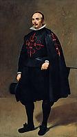 Portrait of Pedro de Barberana y Aparregui, 1632, velazquez