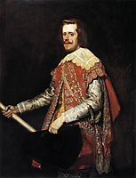 The portrait of Philip IV Fraga, 1644, velazquez