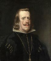 Portrait of Philip IV of Spain, 1656, velazquez