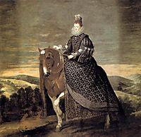 Portrait of Queen Margaret of Austria, 1635, velazquez