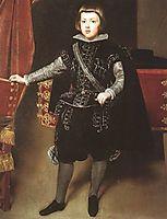Prince Baltasar Carlos, 1640, velazquez