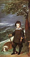 Prince Baltasar Carlos as a Hunter, 1635-36, velazquez