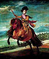 Prince Balthasar Carlos on horseback, 1635, velazquez