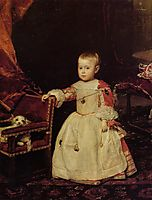 Prince Philip Prosper, Son of Philip IV, 1659, velazquez