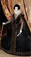 Queen Isabel, Standing, 1632, velazquez