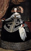 Queen Mariana of Austria, 1653, velazquez
