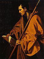 Saint Thomas, 1620, velazquez