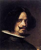 Self-portrait, 1640, velazquez