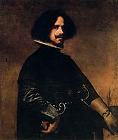 Self-portrait, 1645, velazquez