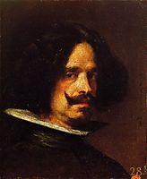 Self-Portrait, c.1640, velazquez