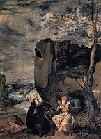 St. Anthony the Abbot and St. Paul the First Hermit, c.1635, velazquez