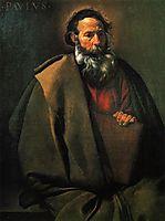 St. Paul, c.1620, velazquez