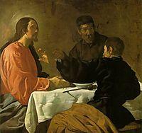 Supper at Emmaus, 1620, velazquez