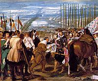 The Surrender of Breda, 1635, velazquez