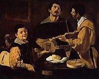 Three Musicians, 1618, velazquez