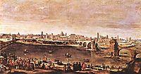 View of Zaragoza, 1647, velazquez