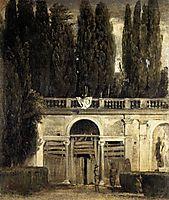 Villa Medici, Grotto-Loggia Facade, 1630, velazquez