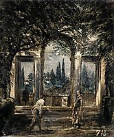 Villa Médicis, Ariane Pavilion, 1630, velazquez