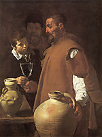 The Waterseller of Seville, 1623, velazquez