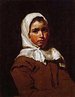 Young Peasant Girl, 1650, velazquez