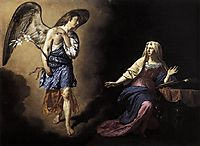 The Annunciation, 1667, veldeadriaen