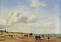 The Beach at Scheveningen, 1658, veldeadriaen