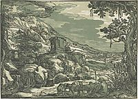 Arcadian landscape, c.1613, veldeesaias