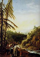 Landscape robbing of a equestrian, veldeesaias