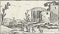 Landscape with Ruins, c.1614, veldeesaias