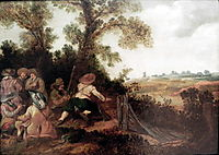 Militia in the dunes in ambush, c.1625, veldeesaias