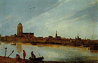 View of Zierikzee, veldeesaias