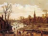 Winter landscape  , veldeesaias