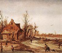 Winter Landscape, veldeesaias