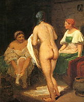 Bathers, venetsianov