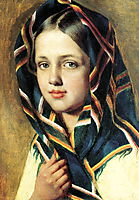 Girl in a Kerchief, venetsianov
