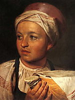 Girl with Milk, 1824, venetsianov