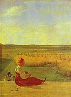 Harvesting. Summer, 1827, venetsianov