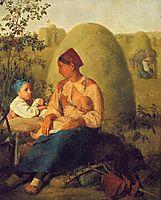 Haymaking, venetsianov