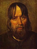 Head of an Old Peasant, venetsianov