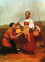 Meeting at the Well, 1843, venetsianov