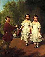 Panaevs children, venetsianov