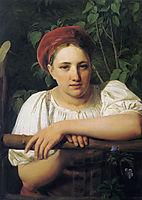 A Peasant girl from Tver, 1840, venetsianov