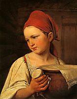 Peasant Woman with Milk, venetsianov