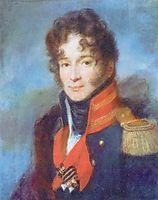 Portrait of the Commander of the Dragoon Regiment P. A. Chicherin, 1810, venetsianov