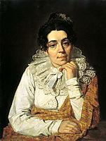Portrait of M. A. Venetsianova, venetsianov