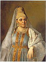 Portrait of Marfa Venetsianova, c.1828, venetsianov