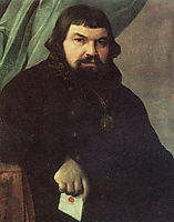 Portrait of the Merchant Obraztsov, venetsianov