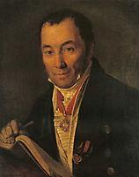 Portrait of P.V. Havskoy, venetsianov