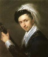 Portret of I.V. Bugaevskiy-Blagodarniy, venetsianov